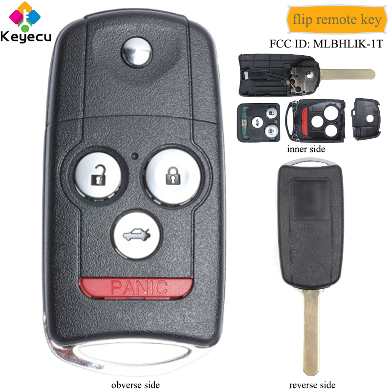 KSTE 433Mhz Puerta de cochera clave 2 Bot/ón redondo remoto interruptor de llave de control