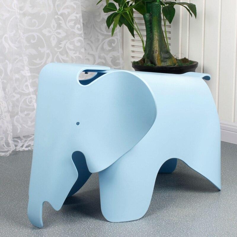 Elephant Children's Chair Kindergarten Cute Nordic Plastic Stool Baby Color Toy Stool Cartoon Animal Stool