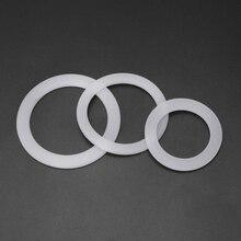 Силиконовое уплотнительное кольцо Гибкая шайба уплотнительное кольцо Замена для Moka горшок эспрессо
