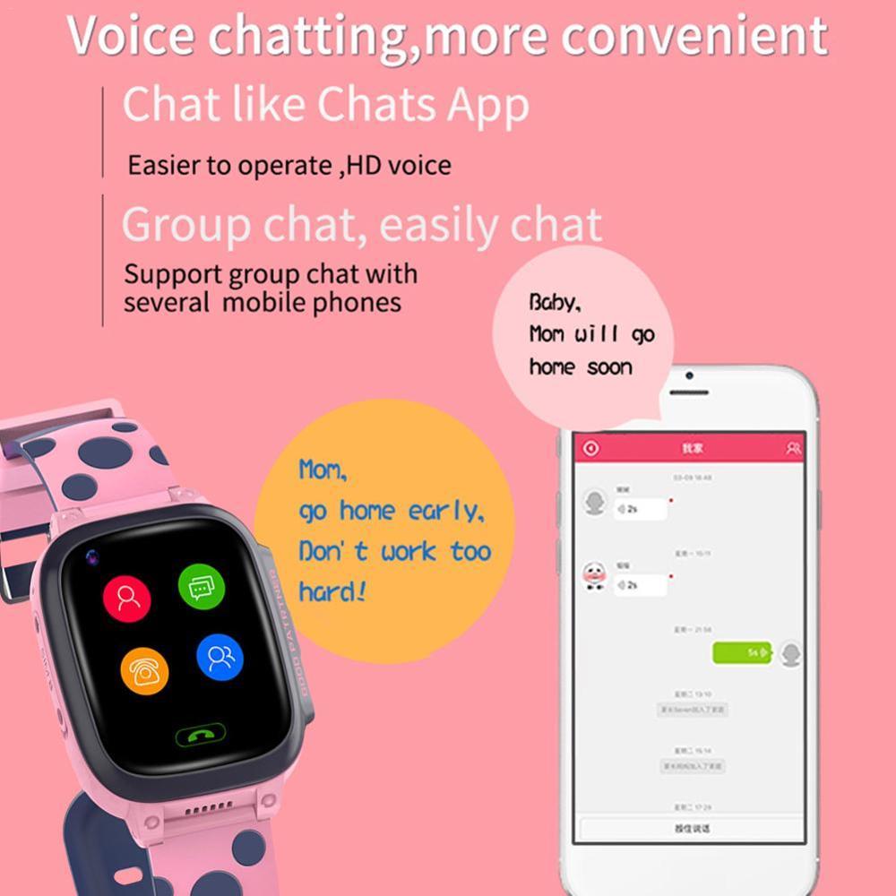 Y95 4G enfant montre intelligente téléphone GPS enfants montre intelligente étanche Wifi anti-perte SIM localisation Tracker Smartwatch HD appel vidéo - 3