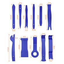Anti-scratch Stereo Install Tools Repair Protection Pro Laborsaving Door Blue 11Pcs Trim PP Universal