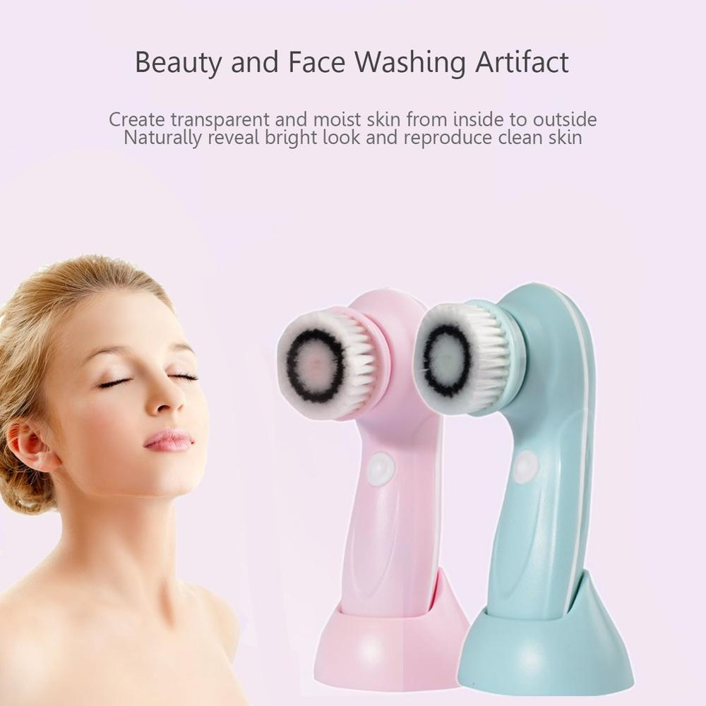 Gentle cleansing Face Brush Blackhead Wash Artifacts Electric Cleansing Instrument Waterproof Beauty Instrument USB Charging in Personal Care Appliance Parts from Home Appliances