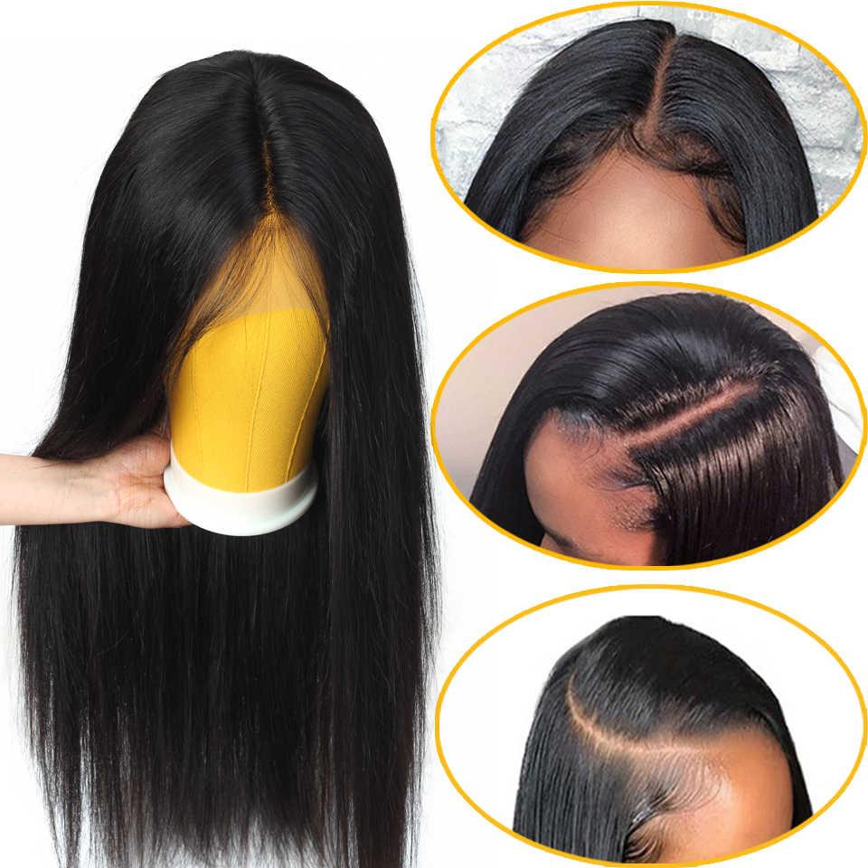 Brazylijska peruka prosto 13 × 4 koronkowa peruka na przód fryzura pixie peruka krótka, koronkowa peruka z ludzkich włosów peruki dla kobiet nie remy 150% gęstość