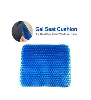 Large Size Elastic Gel Cushion Gel,Gel Sit Cushion Honeycomb Car Sofa Cushion, Cervical Health Care Pain Pad,Flexible Gel Seat