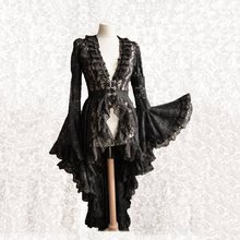 Vintage Elegant Black Lace Dress Women Patchwork Asymmetric Hollow Dinner Dark Goth Evening Perty Plus Size 5XL Vestidos