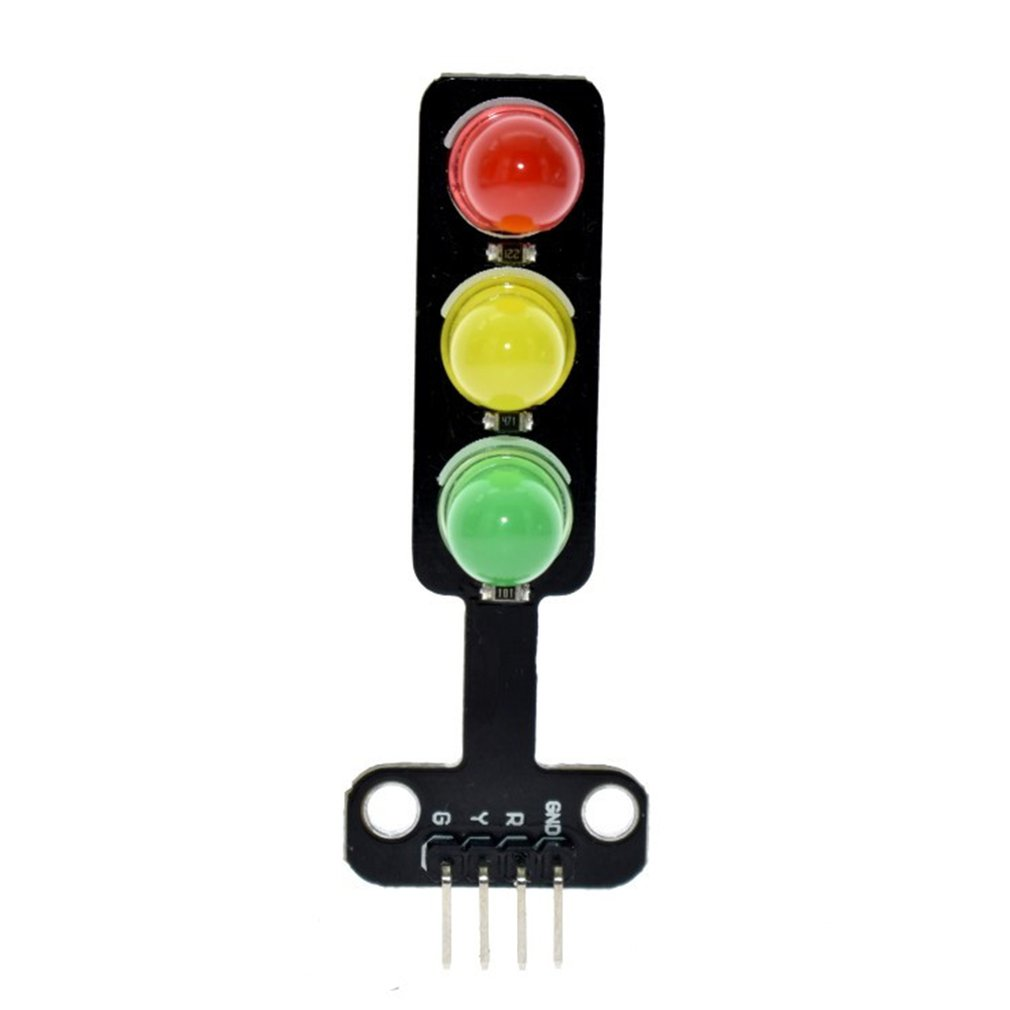 Led Traffic Light Module 5V Digital Signal Output Ordinary Brightness 3 Light Separate Control