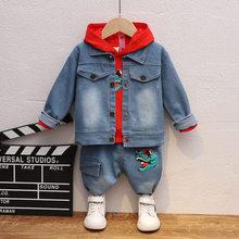 Casual Pants Hoodies Jacket Spring Cotton Tracksuit Baby-Boys-Girls Fashion Kids Children