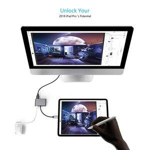 Image 3 - Адаптер для Macbook pro, Huawei Mate 30 Pro, USB Type C, HDMI, 4K