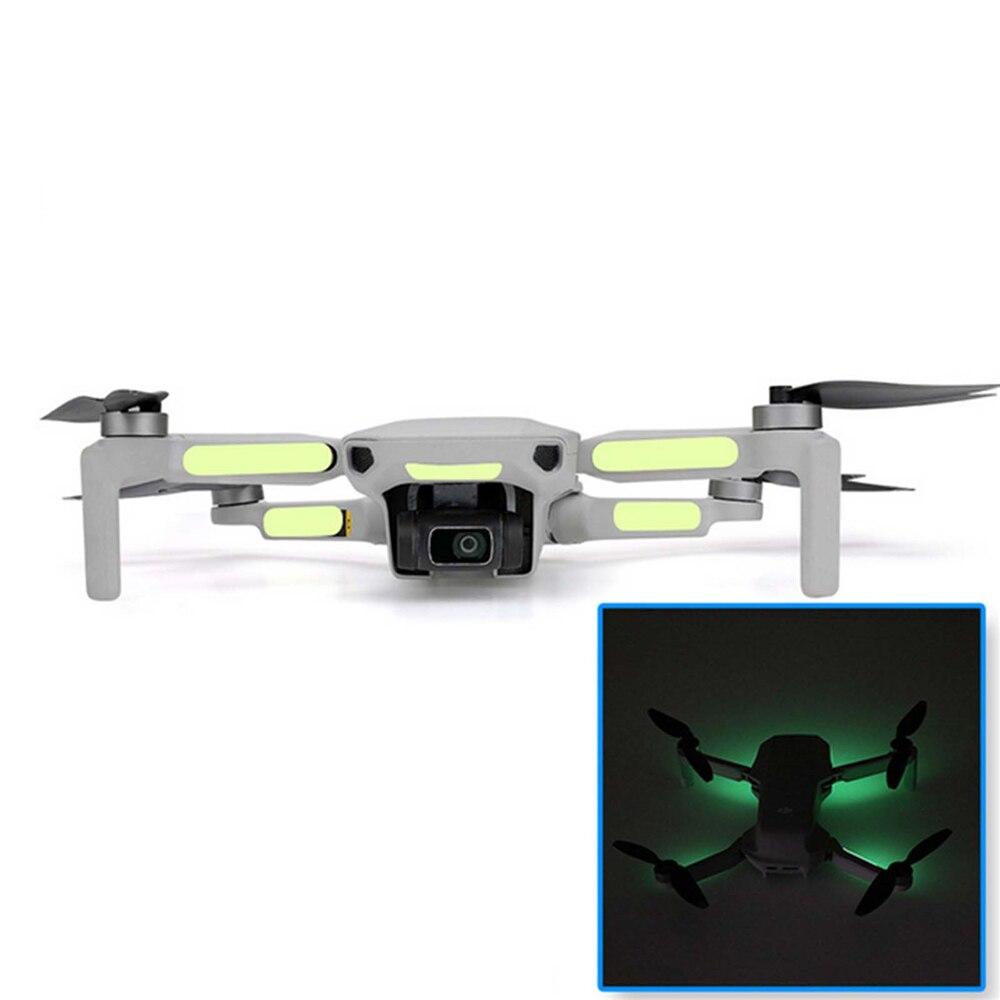2PCS Fluorescent Stickers Night Luminous For DJI Mavic Mini Drone Accessories