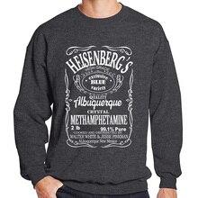 Sweatshirt men 2019 printed Breaking Bad Heisenberg fashion hoodies