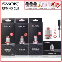 Oryginalny SMOK RPM40 RBA głowica cewki SC potrójne rezystory kwarcowe grzałka Vape rdzeń E papieros odporność rdzeń dla SMOK RPM 40 tanie tanio SMOK RPM40 Coil DS Dual