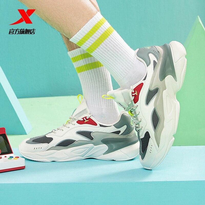 Купить кроссовки xtep мужские удобные модная повседневная обувь для