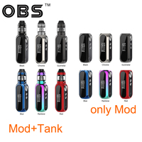 Original 80W OBS Cube VW Box MOD Battery 3000mAh vs OBS Cube VW Vape Kit with 4ml Mesh Tank Atomizer Vape Box Mod Vs Drag 2
