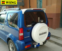 high quality streamline spoilers for Suzuki Jimny rear trunk wing spoiler by 2007-2016