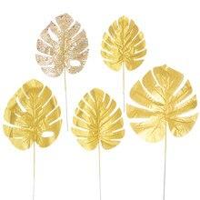 Simulation Gold Leaf Turtle Bamboo Yugali Turtle Leaf Wedding Birthday Party Balloon Scene Decoration 166