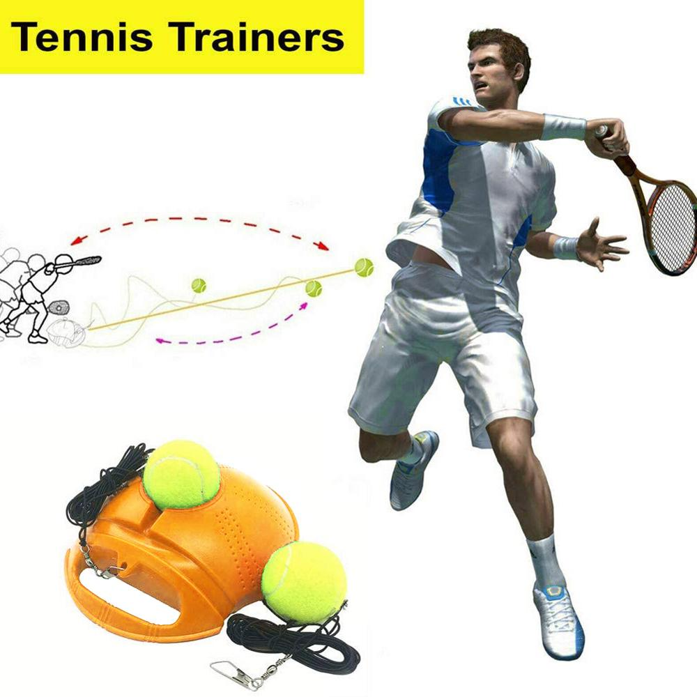 Tennis Trainer with Self-study Rebound Ball and Tennis Baseboard as Tennis Training Tool 1