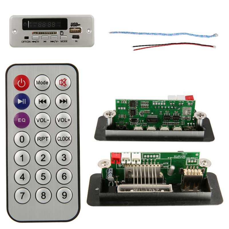EDAL ZTV-CT02B (02EA) Kỹ Thuật Số Màn Hình LED Màu Đỏ Hiển Thị USB TF Radio MP3 Mô Đun Âm Thanh Từ Xa Khuyến Mãi Lớn