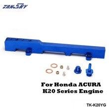 Kit de riel de ingeniería para combustible de competición para Honda Acura RSX Integra DC5 Tipo r K20, TK-K20YG azul