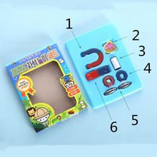 Toys Science-Magnet-Kit Balls Physical-Experiment Teaching-Aids Magnetic-Sticks Kids
