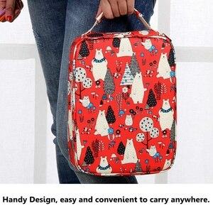 Image 4 - 150 sloty Cute Cartoon zwierząt ołówek torba duża pojemność piórnik przechowywania studentów Box rysunek malarstwo narzędzie etui dostaw sztuki