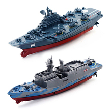Aircraft-Carrier Boat Warship-Battleship-Cruiser Remote-Control-Ship Rc-Racing-Toy High-Speed