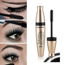 Подкручивающая густая тушь для макияжа объемная Экспресс Накладные ресницы макияж водостойкая косметика для глаз