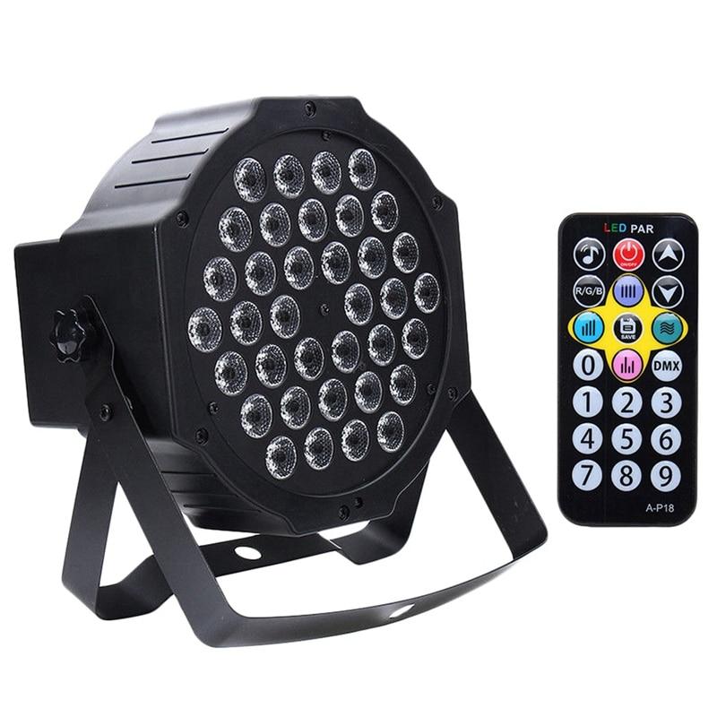 36 Led УФ черный светильник Dmx512 Звук Активированный сценический светильник ing Диско клуб бар Dj шоу, ЕС штекер