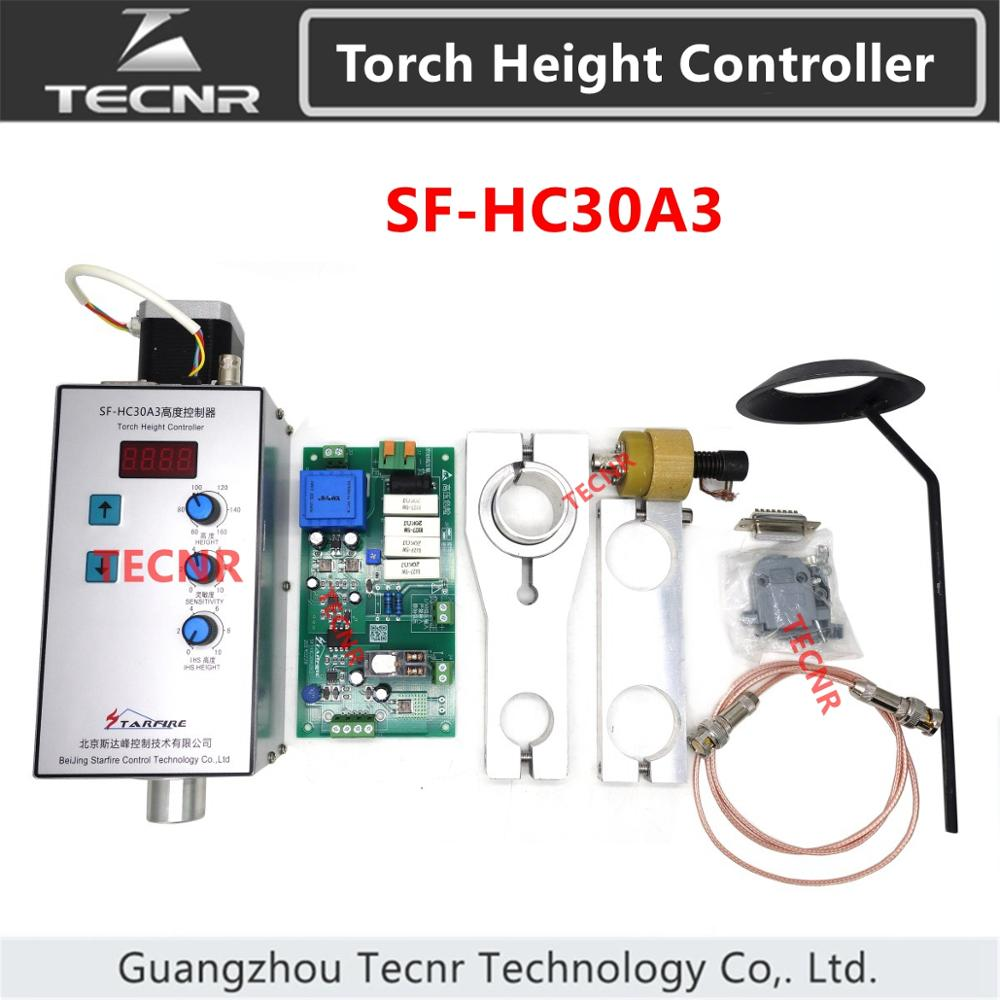 STARFIRE SF-HC30A3 Automatic Torch Height Controller THC For Cnc Plasma Flame Cutting Machine Arc Voltage Gas Replace SF-HC30A0
