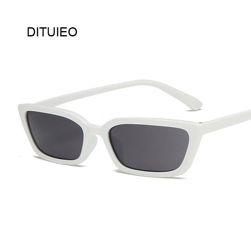 Fashion Square Sunglasses Women Luxury Brand Designer Vintage Cat Eye Sunglasses Female Retro Full Frame Style