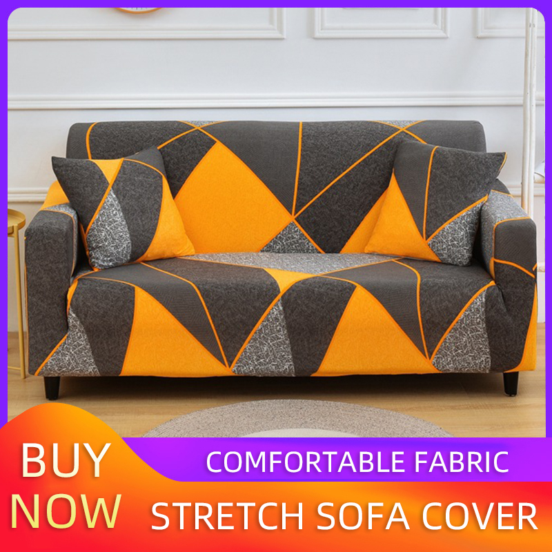 Sofa Cover Elastic Combination Non-slip Sofa Cover Living Room Sofa Cover L-shaped Armchair Cover Single / Double / Three