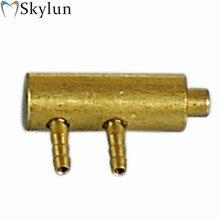 5 sztuk uchwyt dentystyczny PIR zawór metalowy normalne otwarte zawór wiszący fotel dentystyczny zawór dentystyczny SL1206