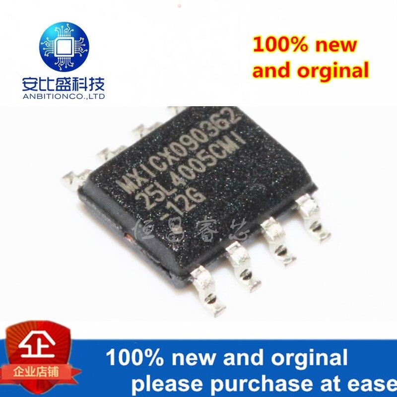 5pcs 100% New And Orginal MX25L4005CMI-12G Silk-screen 25L4005CMI-12G 4Mbits In Stock