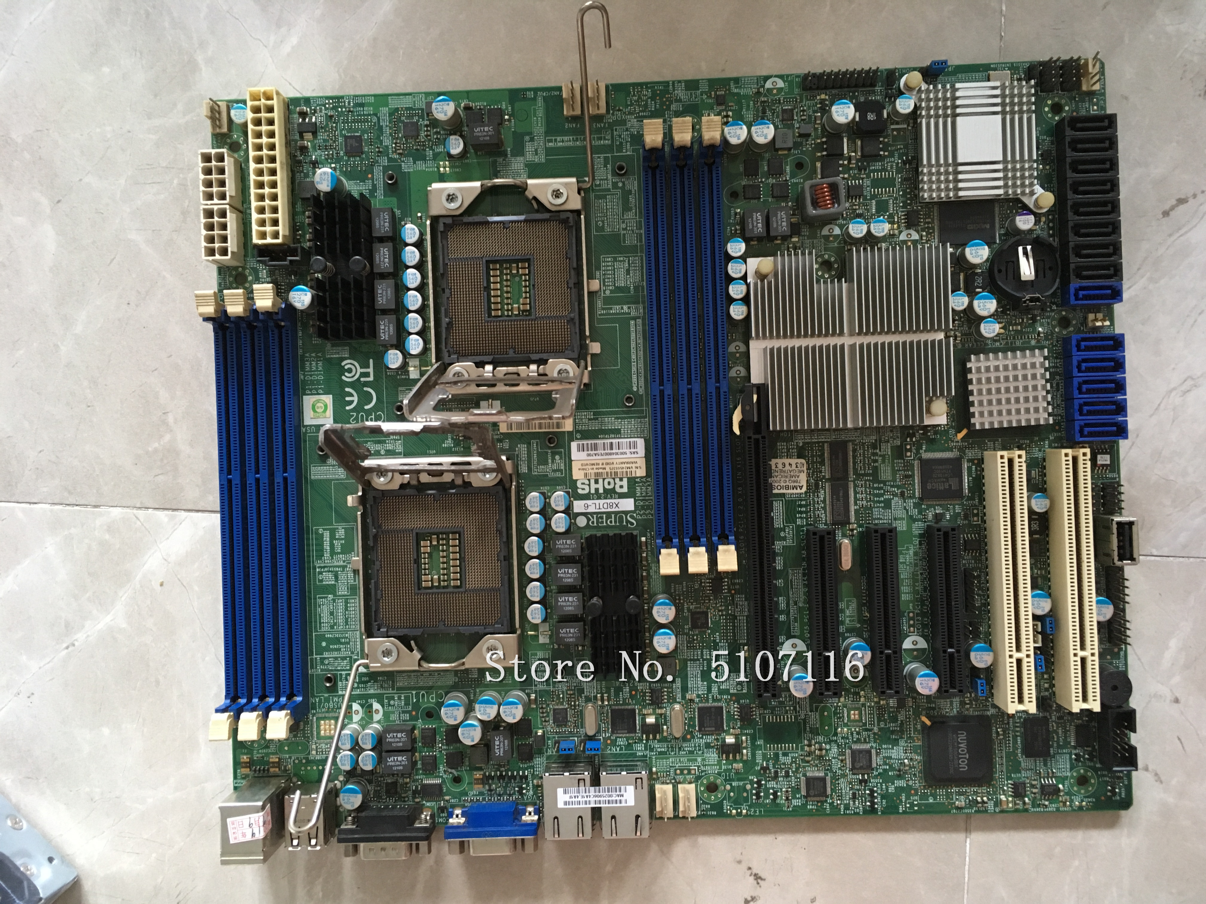 High Quality Desktop Motherboard For X8DTL-6 Will Test Before Shipping