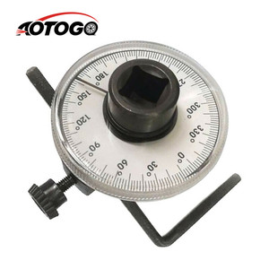 Professional Adjustable 1/2 inch Drive Torque Angle Gauge Car Auto Garage Tool Set Measure Hand Tool Wrench