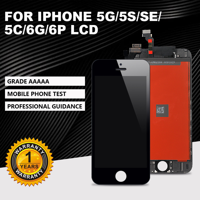 AAA +++ is suitable for <font><b>iPhone</b></font> 5G <font><b>5S</b></font> SE 5C <font><b>LCD</b></font> touch <font><b>screen</b></font> digitizer component, suitable for <font><b>iPhone</b></font> 6G 6Plus + with Gifts image