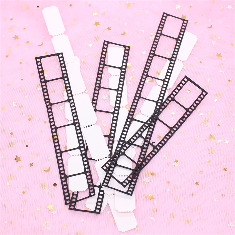 KSCRAFT Film Strip And Tickets Metal Cutting Dies Stencils For DIY Scrapbooking/photo Album Decorative Embossing Paper Cards