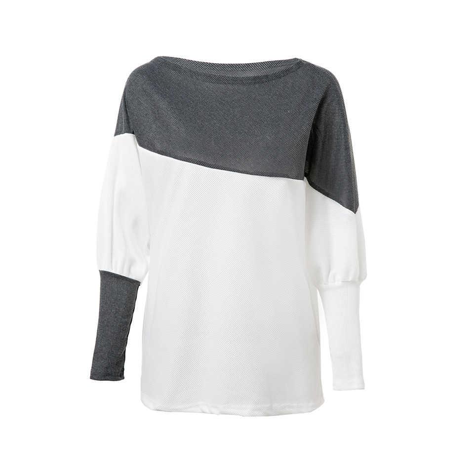 UGOCCAMเซ็กซี่เสื้อผู้หญิงแขนยาวผู้หญิงฤดูใบไม้ร่วงหลวมผู้หญิงเสื้อTop Ladyเสื้อผู้หญิงเสื้อPlusขนาดblusas