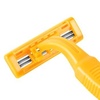 Станок для бритья RZR Iguetta GF2-1721, 2 шт желтый 6