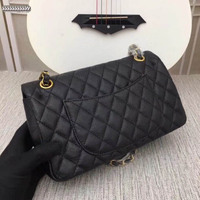 Luxury woman handbags famous designer gold chain women diagonal cross package 2020 high quality Real leather Caviar women bags