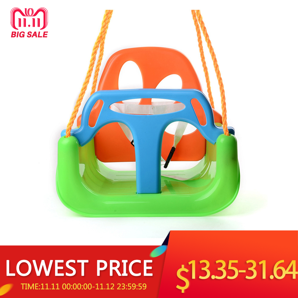Children's Swing Home Three-in-one Infant Baby Swing Accessories Baby Outdoor Toys Swing Parent-child Interactive Toys