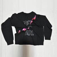 Women Sweater Knitwear Shiny Letters Beaded Diamonds Lightning Classic High end Wool Sweater Women Rock Girl