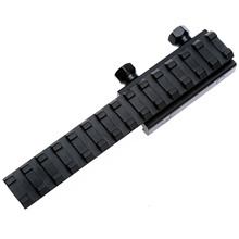 20mm Tactical Flat Top Riser Extension Dovetail Base Rail Adapter Hunting Airsoft Rifle Shotgun Lights Laser Sight Scope Mounts 4 12x50eg tactical rifle scope with holographic 4 reticle sight