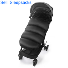 Baby envelope sleepsacks infant winter bed sleeping bag for stroller accessories thick warm footmuff pushchair crib cotton pad