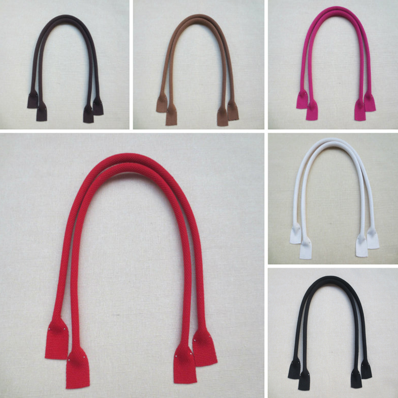 1 Pair 60cm Canvas Bag Handles Fashion Sewing Handles New Handbag Shoulder Strap Purse Strap DIY Repalcement Bag Accessories