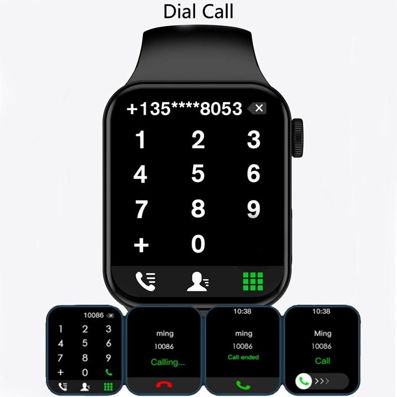 CHYCET Original IWO Series 7 Smart Watch Men 1.82 Inch HD Screen Dial call Smartwatch Women Heart Rate Monitor Watch PK HW22 W46 5