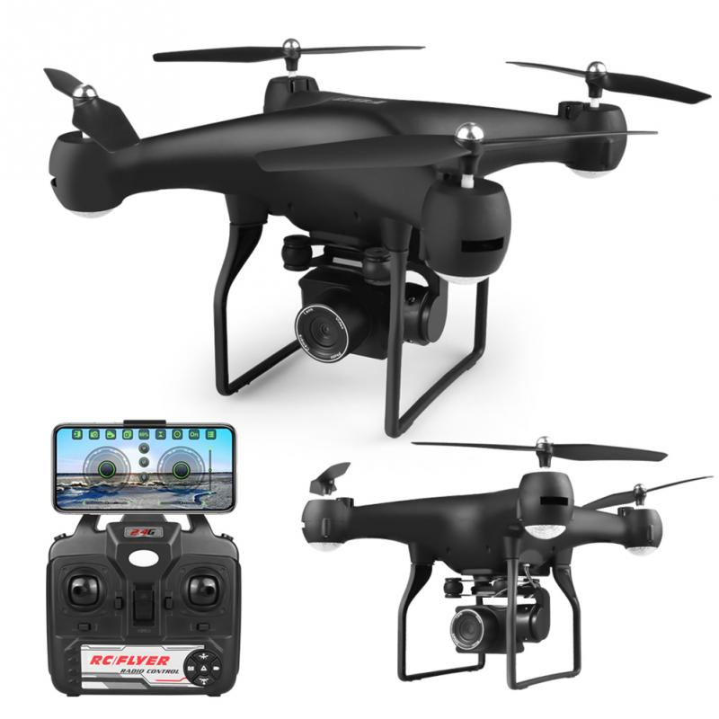 WiFi RC Drone 4K Camera Optical Flow Gift 1080P HD Camera Aerial Video RC Quadcopter Aircraft Quadrocopter Wide Angle Toys image