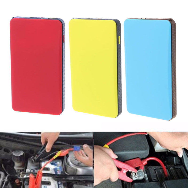 20000mAh USB 12V Multi-Function Car Jump Starter Portable Power Bank Emergency Charger Booster Battery Starting Device