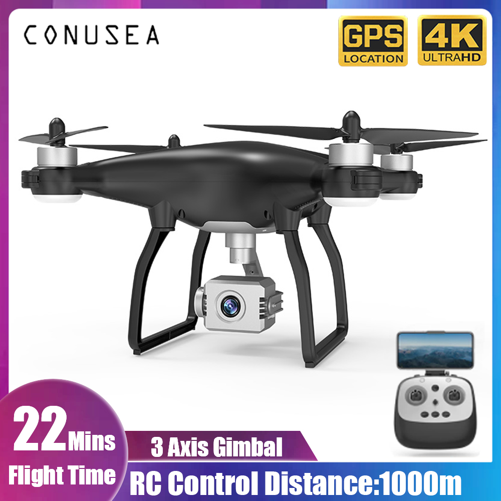 X35 RC Drone Camera GPS 5G WiFi 4K HD Camera Professional RC Quadcopter Brushless Drones 3 Axis Gimbal Stabilizer 22minute dron