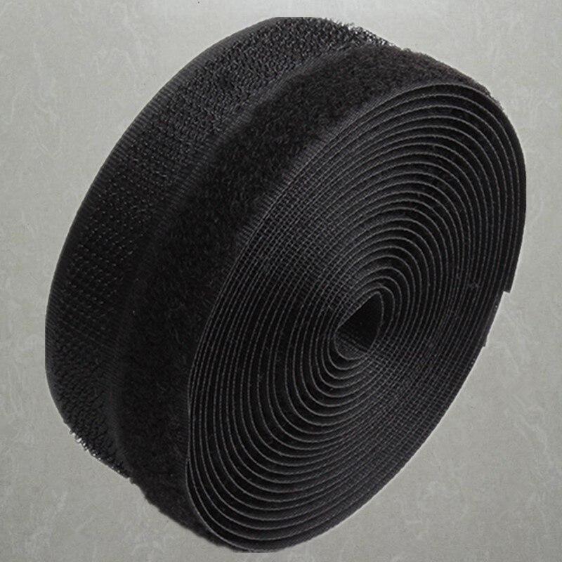 24 метра/пара 10/16/20/25 мм клейкая застежка-липучка лента без клея Velcros клейкие Швейные полоски Magic Tap