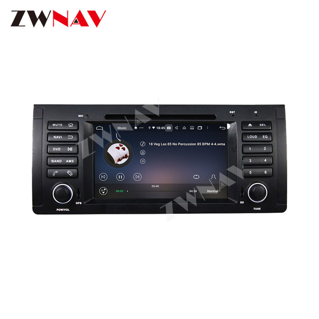 Купить 128g carplay android 10 автомобильный dvd плеер для bmw e53